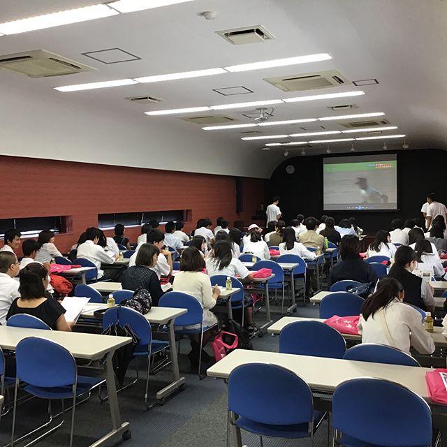 夏休み最後のオープンキャンパスが行われましたヽ(´▽`)/参加していただいた方々、暑い中ご参加ありがとうございました(๑˃̵ᴗ˂̵)