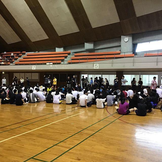 理学&看護合同クラスマッチ開催〜ヽ(´▽`)/