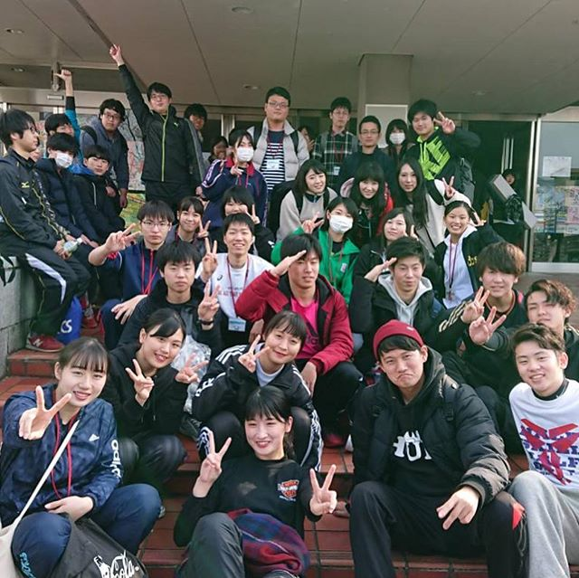 4校合同スポーツ大会が佐賀県武雄市で行われました!他校との関わりもあり、楽しい思い出となったようです。(๑˃̵ᴗ˂̵)後々は実習等で一緒になるかもしれませんね^o^