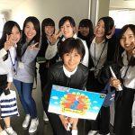 ちぐスマの撮影(*´꒳`*)取材に来られていた佐藤けいさんもキレイで学生もテンション上がってました(๑˃̵ᴗ˂̵)放送は12月17日月曜日です!放送時間の時は学校に来ている時間なので、みんな録画の準備を!!