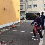 本日、防災訓練がありました!消火器、消火栓について再確認しました!